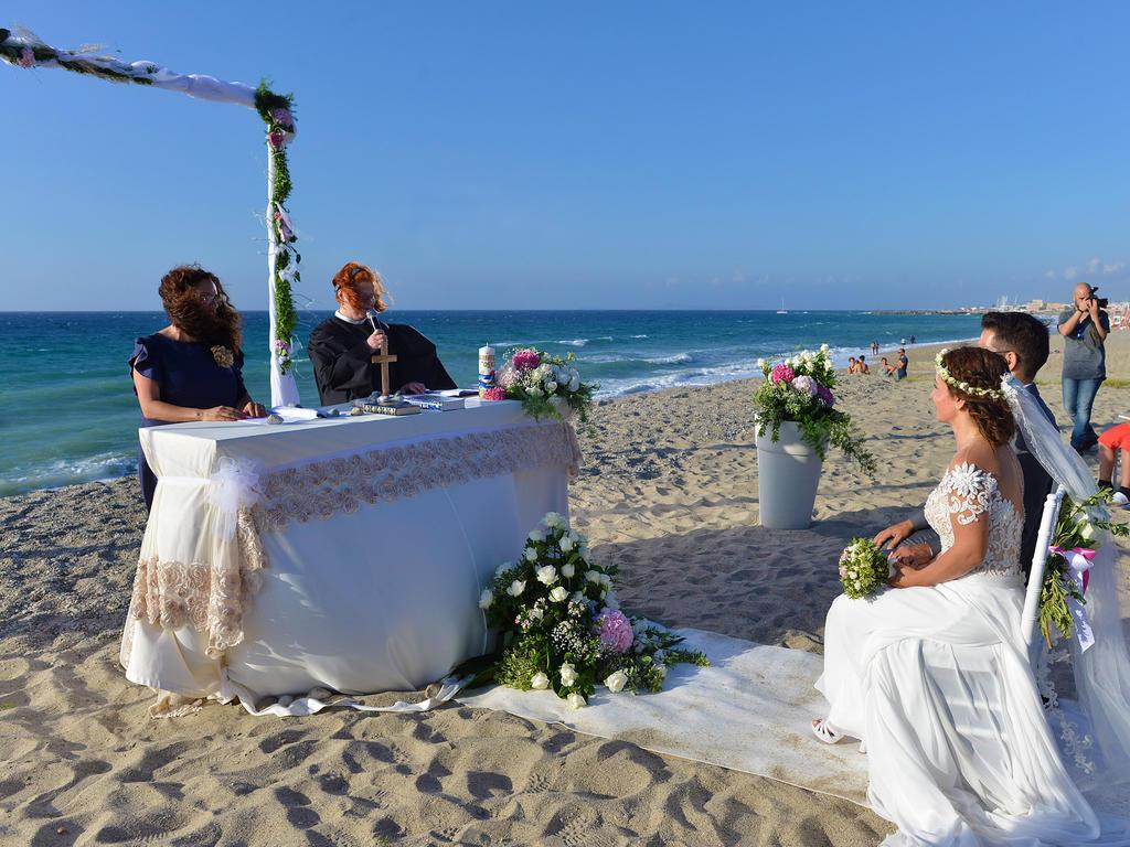 hochzeit auf sizilien  heiraten sie am strand