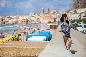 Strandpromenade von Cefalù