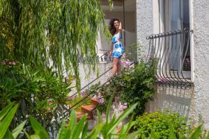 Garten der Ferienwohnung Villa Iolanda II