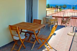 Ferienwohnung mit Meerblick und Balkon in Sizilien