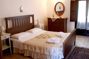 Gemütliches Schlafzimmer mit Dopplebett