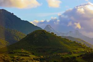 Wunderschöne Berglandschaft in Sizilien