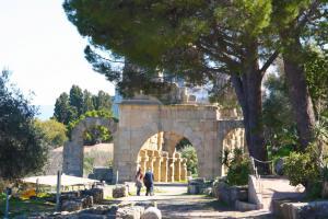 Archäologische Reste der griechischen Stadt Tyndaris