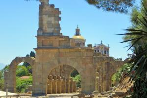 Archäologischen Ausgrabungen der griechischen Stadt Tyndaris