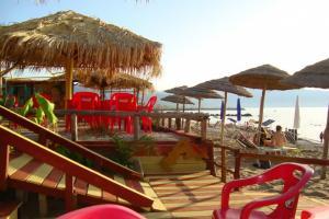Strandbar Matanza nur 100 Meter entfernt