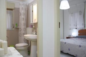 Flur zum Badezimmer und Schlafzimmer