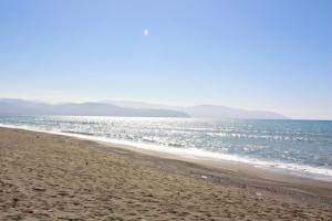 Strand direkt vor der Tür