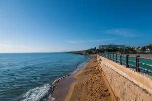 Das Ferienhaus in Lido di Noto, Sizilien, ist nur 300 m vom Strand entfernt