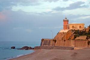 Leuchtturm von Capo d'Orlando in Sizilien