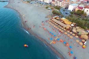 Strandbar Lido Matanza in Tonnarella am Meer
