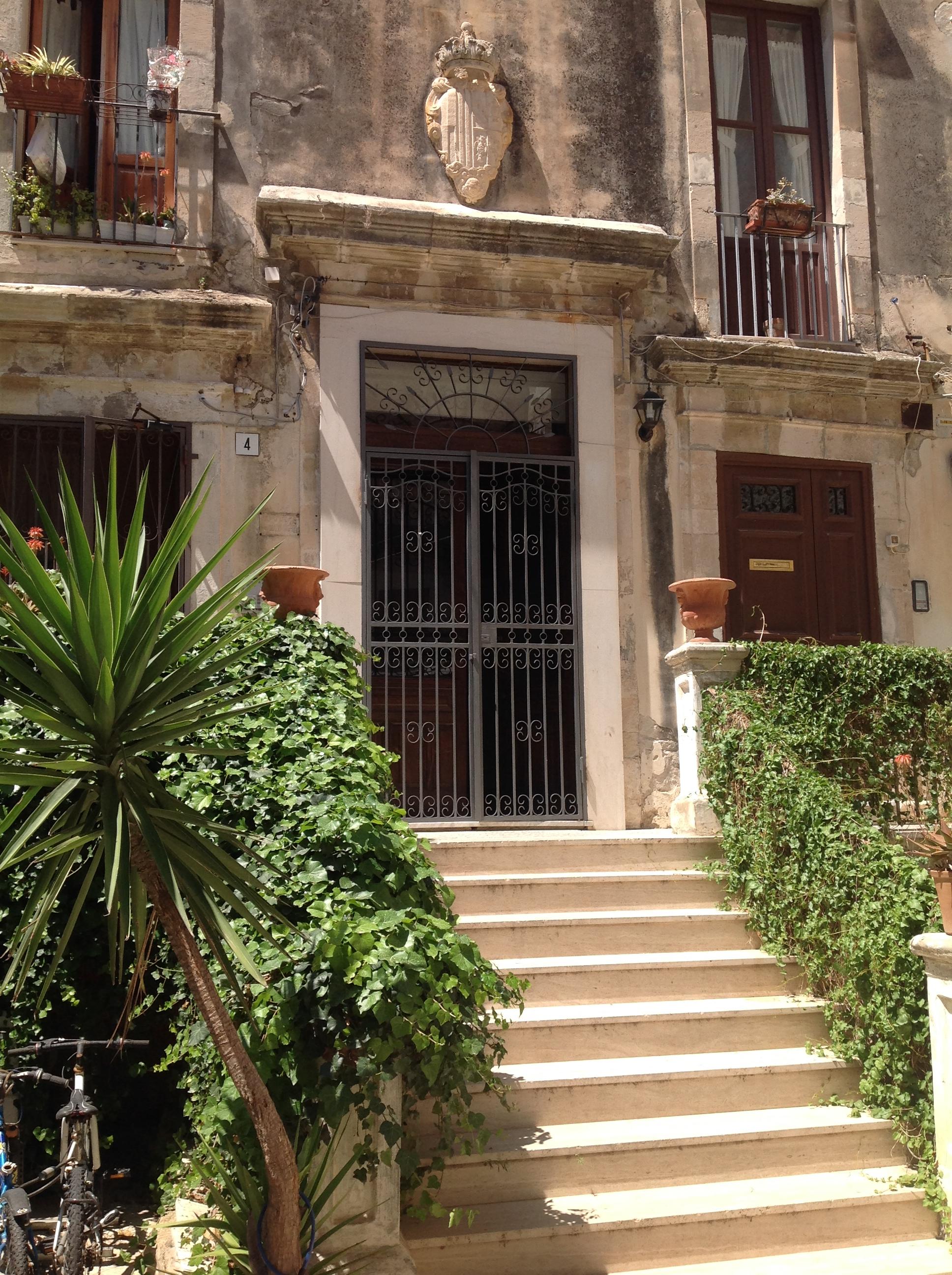 Eingang Casa Ortigia