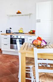 Gemütliche und komplett ausgestattete Küche