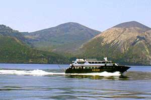 Fähre zu den Eolischen Inseln