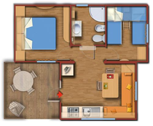 Mobile Home Typ Malibu